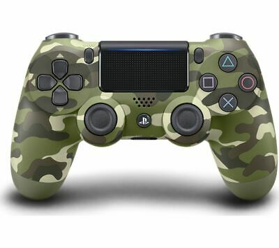 AU70.95 • Buy Sony Playstation Dualshock 4 V2 Wireless Ps4 Gaming Controller Green Camo