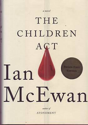 £15 • Buy The Children Act By Ian McEwan (Hardback, 2014) SIGNED FIRST US EDITION