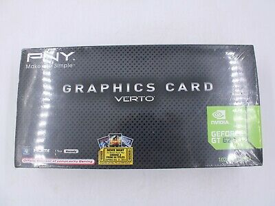 $ CDN35.24 • Buy NEW PNY Nvidia GeForce GT 620 1GB GDDR3 Graphics Video Card VCGGT620XPB