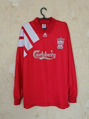 £365.76 • Buy Liverpool 1992 - 1993 Centenary Home Shirt Jersey Player Issue Long Sleeves