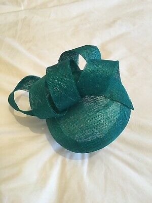 £25 • Buy Hobbs Occasionwear Teal / Turquoise Fascinator With Original Dust Bag - One Size