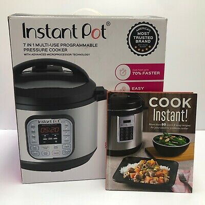 $49.99 • Buy Instant Pot Multi-Use 8 Quart Programmable Pressure Slow Cooker IP-DUO80 V2