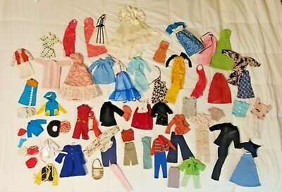 $ CDN44 • Buy Vintage Lot-Over 70 Pieces - Barbie Doll Clothes Untagged Handmade 1960s '70s