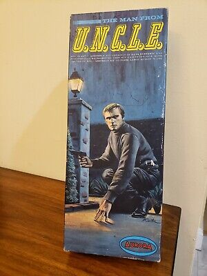 £156.46 • Buy 1966 Aurora ~ The Man From Uncle Model Kit #411-98 Napoleon Solo Rare