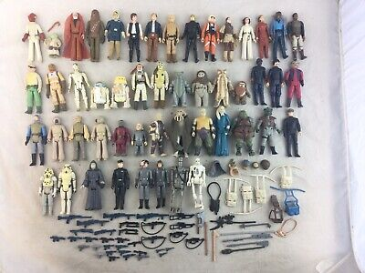 $ CDN503.53 • Buy Large Lot Vintage Star Wars Action Figures Weapons Accessories
