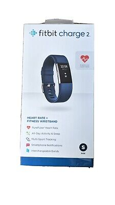 AU22.60 • Buy Fitbit Charge 2 Fitness Activity Tracker, Size Small - Blue