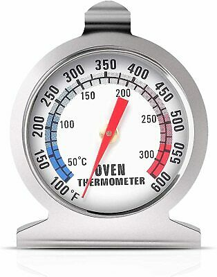 £8.92 • Buy Stainless Steel Oven Thermometer Large Dial Kitchen Food Temperature UK