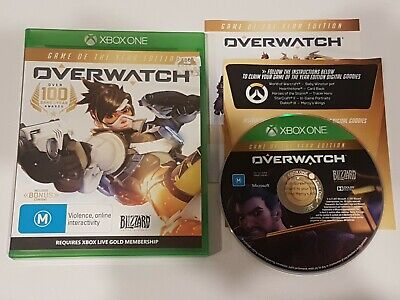 AU27.95 • Buy Overwatch Game Of The Year Xbox One XB1 Very Good Condition Freepost