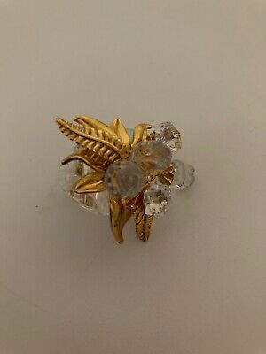 £12 • Buy Swarovski Crystal Memories Bouquet Of Flowers Mint Condition Not In Original Box
