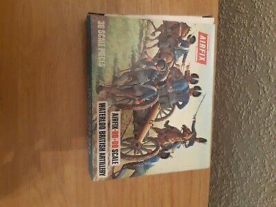£4 • Buy Airfix  Waterloo 1.72 Toy Soldiers British Artillery Boxed