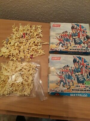 £4 • Buy Airfix  Waterloo 1.72 Toy Soldiers Highland Infantry  Boxed