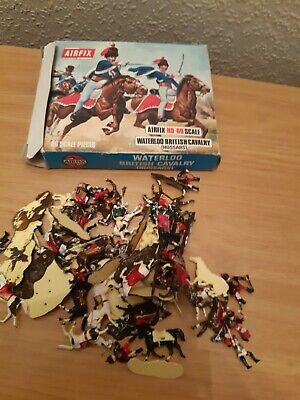 £4 • Buy Airfix  Waterloo 1.72 Toy Soldiers British Cavalry Boxed