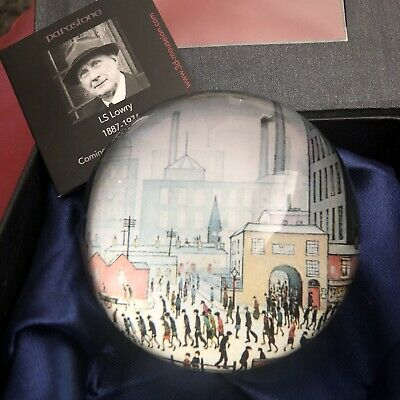 £16 • Buy Lowry Coming From The Mill Paperweight - John Beswick Art Deco