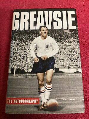 £25.99 • Buy RARE SIGNED JIMMY GREAVES AUTOBIOGRAPHY BOOK - H/B - SPURS CHELSEA ENGLAND (a)