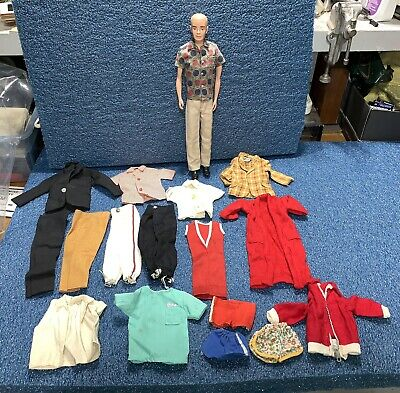 $ CDN41.20 • Buy Vintage Barbie Ken Doll With Clothes