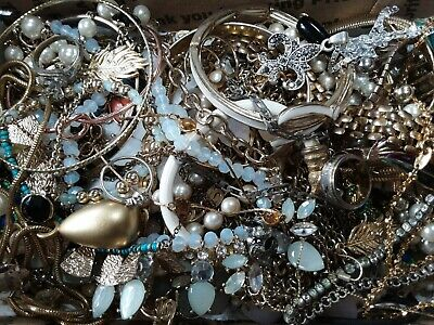 $ CDN18.88 • Buy #5 Vintage To Now Estate Find Jewelry Lot Junk Drawer Lb Untested Wear