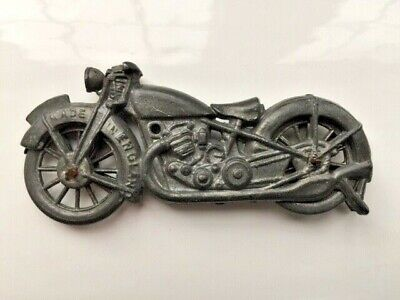 £15 • Buy Vintage 1930's Motorcycle By John Hill & Co - Johillco Toys - Great Condition!
