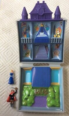£10.99 • Buy Vintage Disney Polly Pocket Sleeping Beauty Magic Castle Complete With 2 Figures