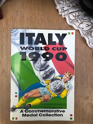 £44.99 • Buy Italy World Cup 1990 Commemorative Medal Collection Complete Superb