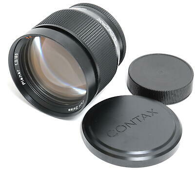 $ CDN4145.67 • Buy Zeiss Germany 1.2/85mm Planar AE-G T* Near Mint Condition For Contax RTS