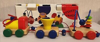 £3.50 • Buy Pintoy Pull Along Activity Train - Boxed