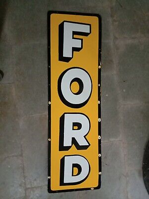$ CDN1.25 • Buy Porcelain Ford Enamel Sign Size 60  X 18  Inches