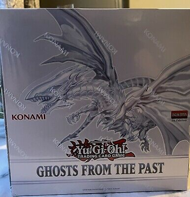 £55 • Buy Ghosts From The Past - Sealed Display Box - 5 Sealed Mini Boxes - Yu-Gi-Oh!