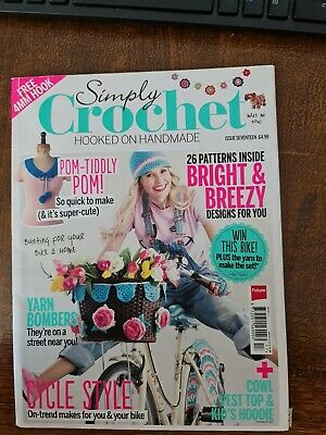 £1 • Buy Simply Crochet Issue No17,full Of Great Crochet Patterns & Colourful Inspiration