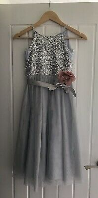 £28.50 • Buy Monsoon Bridesmaid Dress Special Occasion Dress Flower Girl Dress Age 7 RRP £44