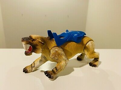 £46.75 • Buy Dino Riders Ice Age Saber-tooth Sabretooth Tiger With Seat/ Armor Part TYCO