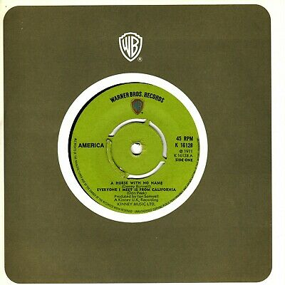 £6.99 • Buy America - A Horse With No Name (7  Single 1971) EX