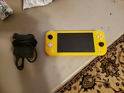 $ CDN188.83 • Buy Nintendo Switch Lite Yellow Console And Charger FACTORY RESET