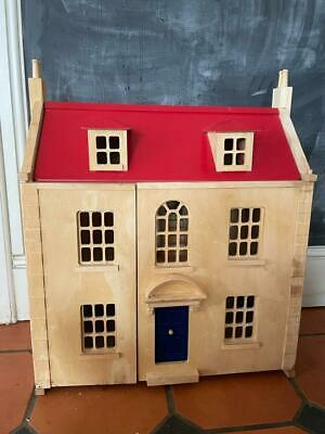 £50 • Buy PINTOY WOODEN MARLBOROUGH DOLLS HOUSE - Furniture And People -3 Floors