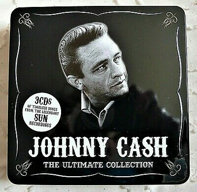 £1.80 • Buy UNION SQUARE Johnny Cash The Ultimate Collection 3 X CD In Tin Box Sun Recording