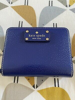 £15 • Buy New Kate Spade Blue Zipped Purse With Card Holder Compartment
