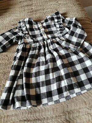 £1.99 • Buy La Redoute Girls Autumn Winter Check Gingham Dress Age 3 Years