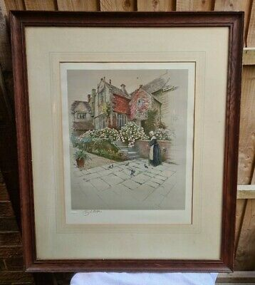 £55 • Buy CECIL ALDIN: 'Binghams Melcombe Dorset' From The Old Manor Houses Series,
