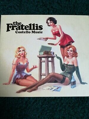 £4.50 • Buy The Fratellis Costello Music CD And DVD Mint