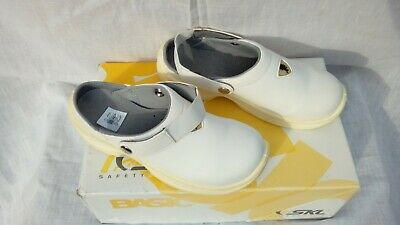 £13.99 • Buy  Size 3 4 White  Steel Toecap Medical Dental Safety Clogs Mules Shoes Nwb