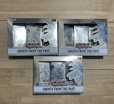 £47 • Buy YuGiOh Ghosts From The Past Sealed Display BOX - 3 Mini Boxes - 1st Edition