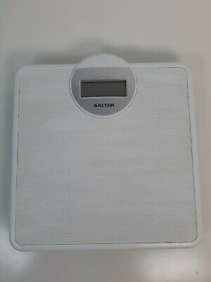 £8.99 • Buy Salter Electronic Digital Bathroom Weighing Scales Kg, Lb, St Model 9000 White