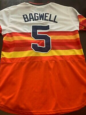 $19.99 • Buy Jeff Bagwell Houston Astros #5 Majestic Cooperstown Collection Jersey - Size M