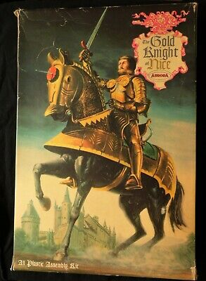 £290 • Buy Aurora Gold Knight Of Nice Model Kit 1/8 Scale