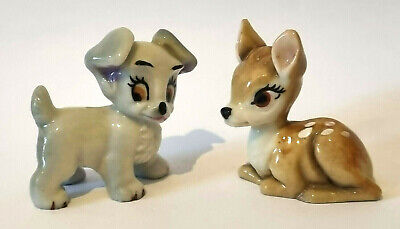 £0.99 • Buy WADE 1950s DISNEY BAMBI & SCAMP The Hat Box Series First Issue 1956-65 Excellent