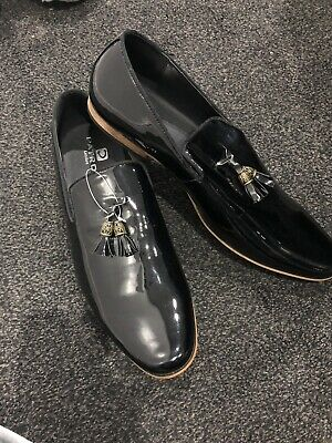 £33.99 • Buy Black Patent Mens Shoes Size 10 New Without Box