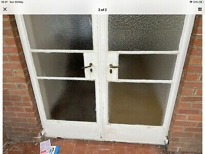 £600 • Buy Antique Crittall French Doors