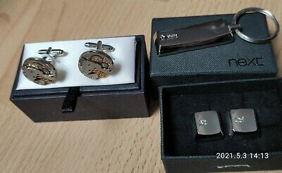 £7.99 • Buy New 2 Sets Of Cufflinks, Including Steampunk And Ctrl, Alt