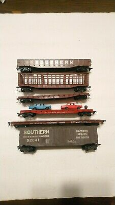 $ CDN1.57 • Buy Roundhouse/Athearn Etc HO Train Lot Of 6 Southern Railway Rolling Stock Cars