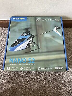 £64.86 • Buy Excellent Blade Nano S2 Ready To Fly RTF RC Remote Control Micro Helicopter