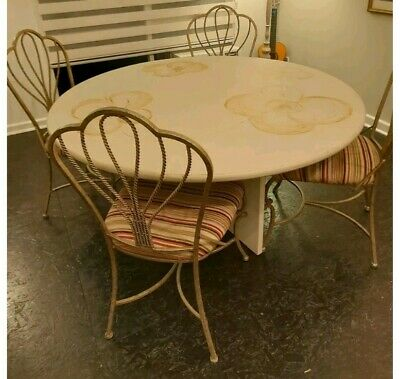 AU19 • Buy  Round , Dining Table + 4 CHAIRS